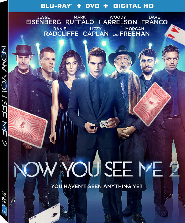 Now You See Me 2 Exclusive Bonus Features Clip Shows How The Four Horsemen Pull Off their Most Impossible Heist