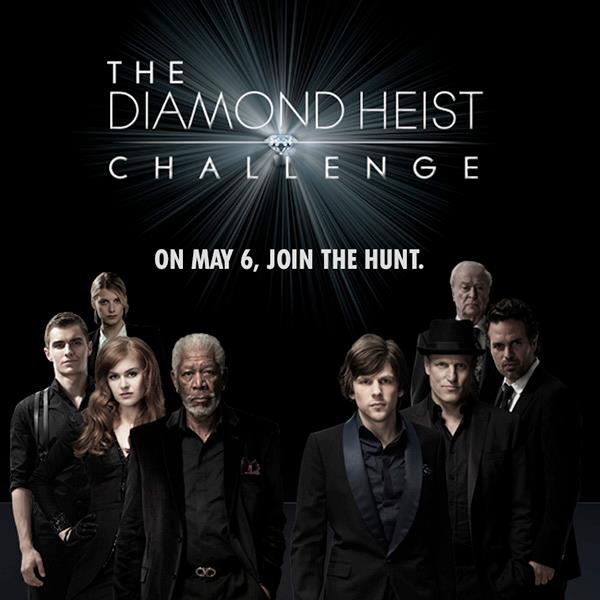 Now You See Me Diamond Heist Challenge