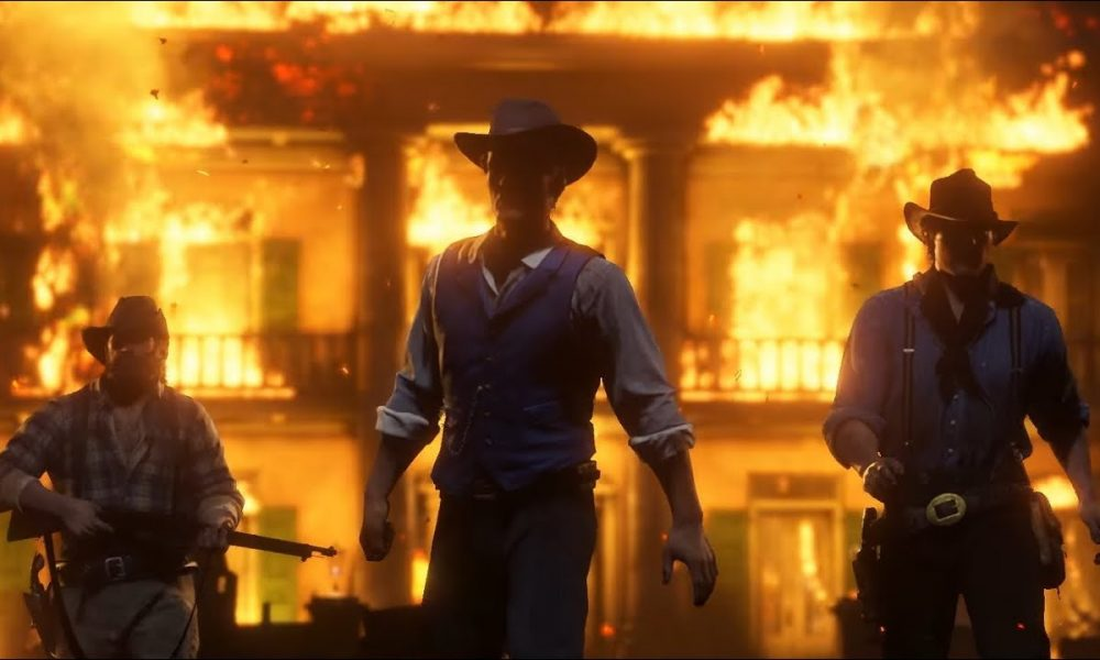Clip from the Lil Nas X music video Old Town Road