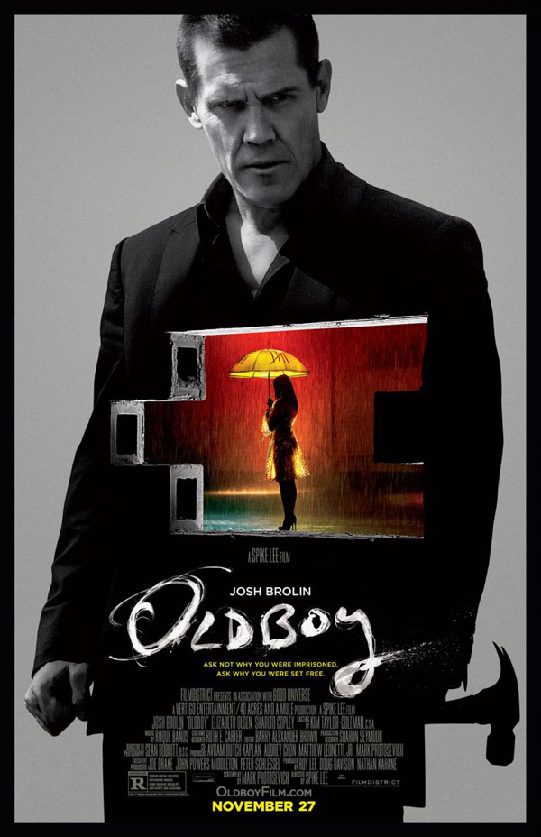 Oldboy Poster Oldboy Movie Review