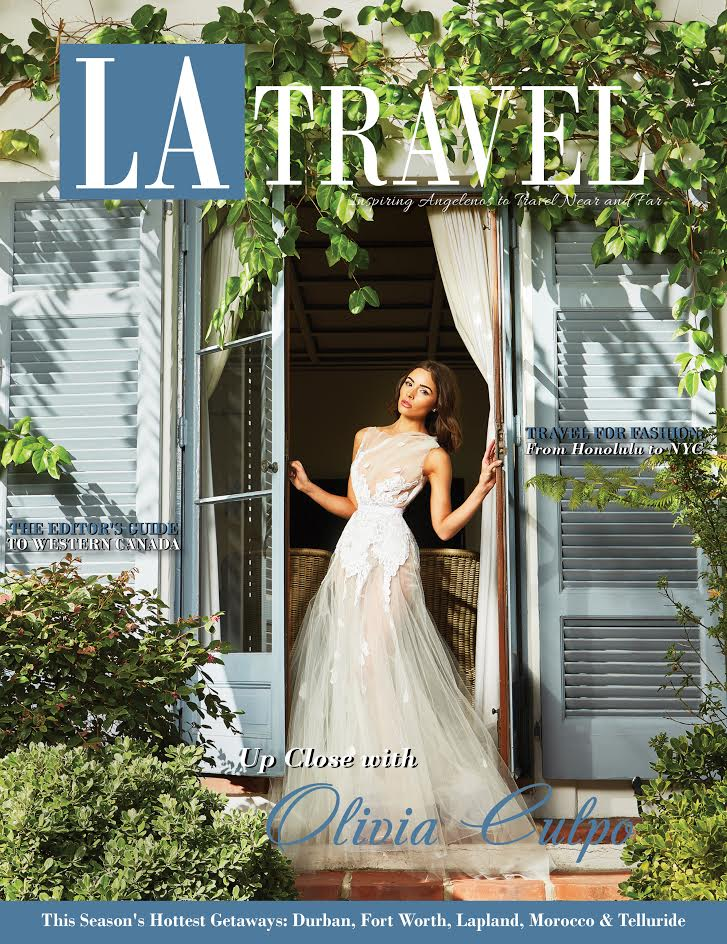 Olivia Culpo LA Travel Cover