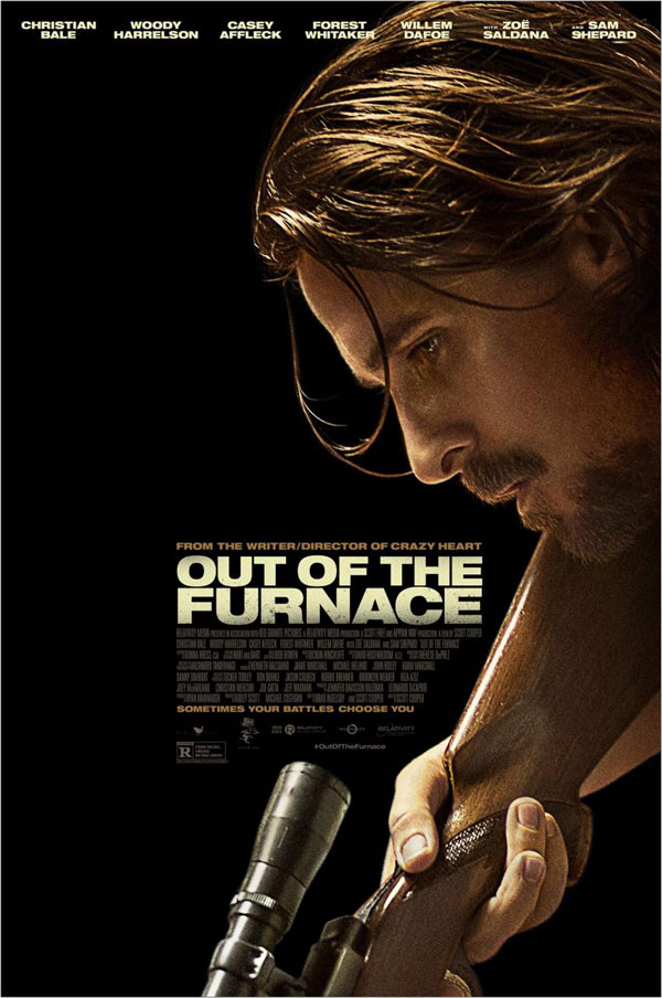Out of the Furnace Poster Out of the Furnace Movie Review