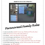 PA Family Rules 150x150 Creepy New Photo from Paranormal Activity 4