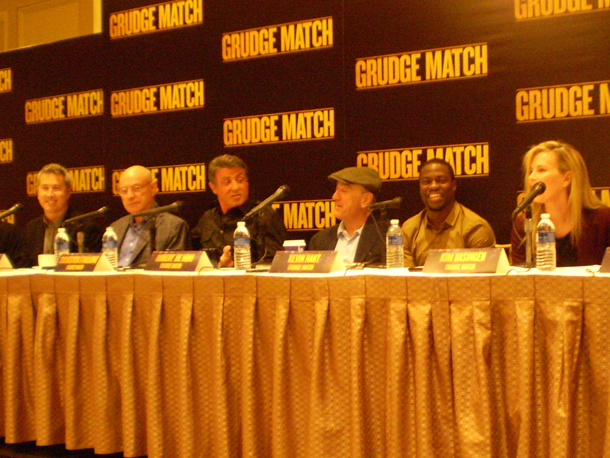 PC140144 Interview: The Cast and Crew Talk Grudge Match