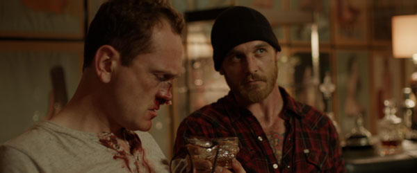 Pat Healy and Ethan Embry in Cheap Thrills
