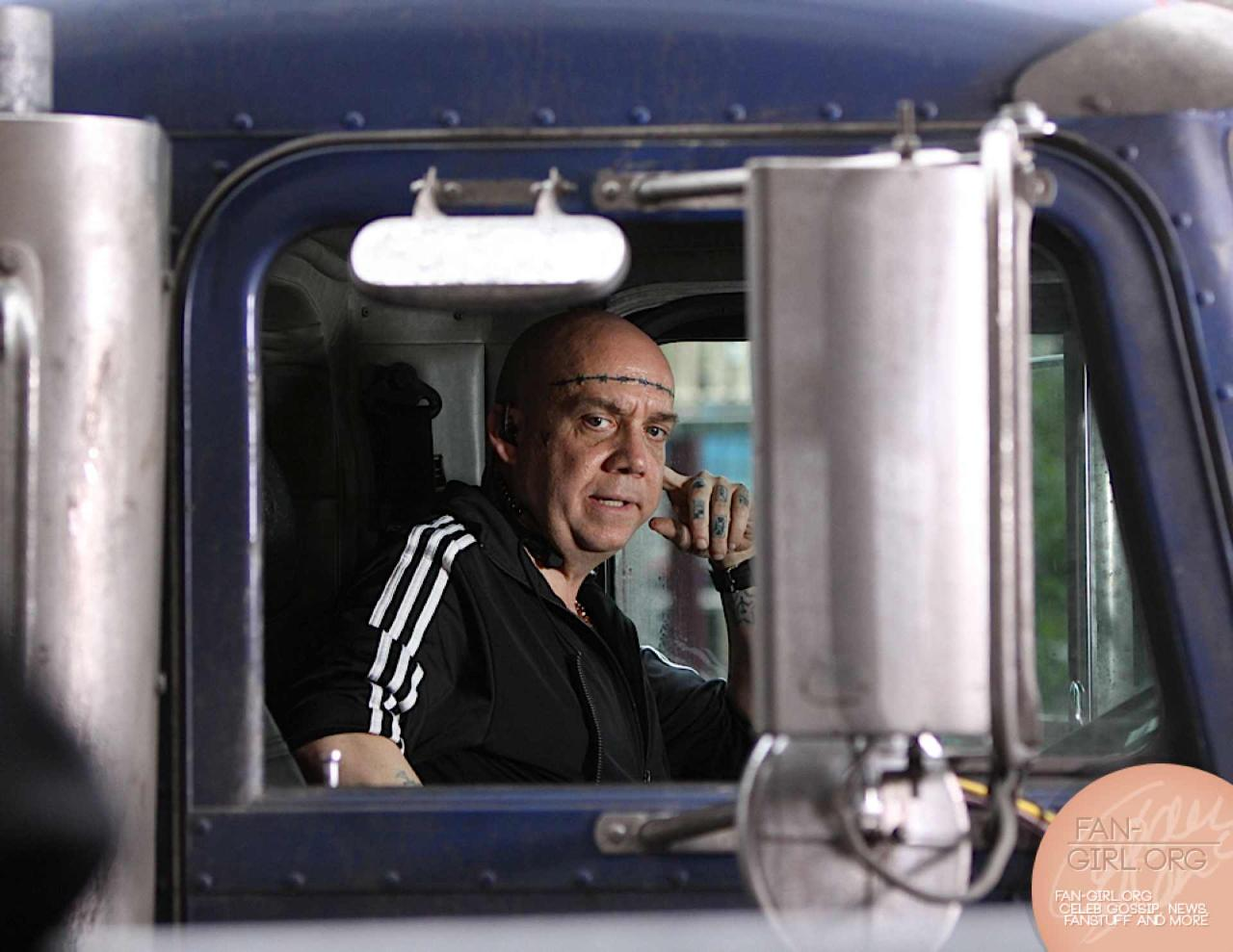 Paul Giamatti in The Amazing Spider Man 2 The Rhino 4 First Official Look at Paul Giamatti in The Amazing Spider Man 2