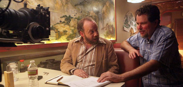 Paul Giamatti and Don Coscarelli in John Dies at the End