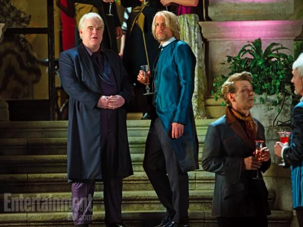 Philip Seymour Hoffman Catching Fire New Stills from The Hunger Games: Catching Fire Hit The Web