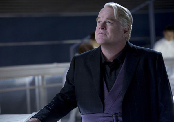 Philip Seymour Hoffman in The Hunger Games: Catching Fire