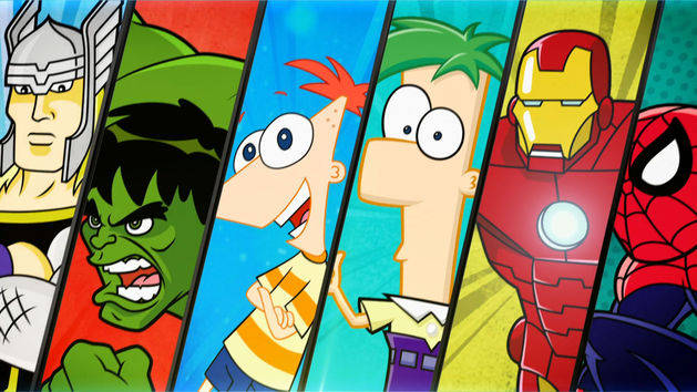 Phineas and Ferb Mission Marvel DVD Review: Family Guy Volume 11, Phineas and Ferb, Blood and Dark Girls