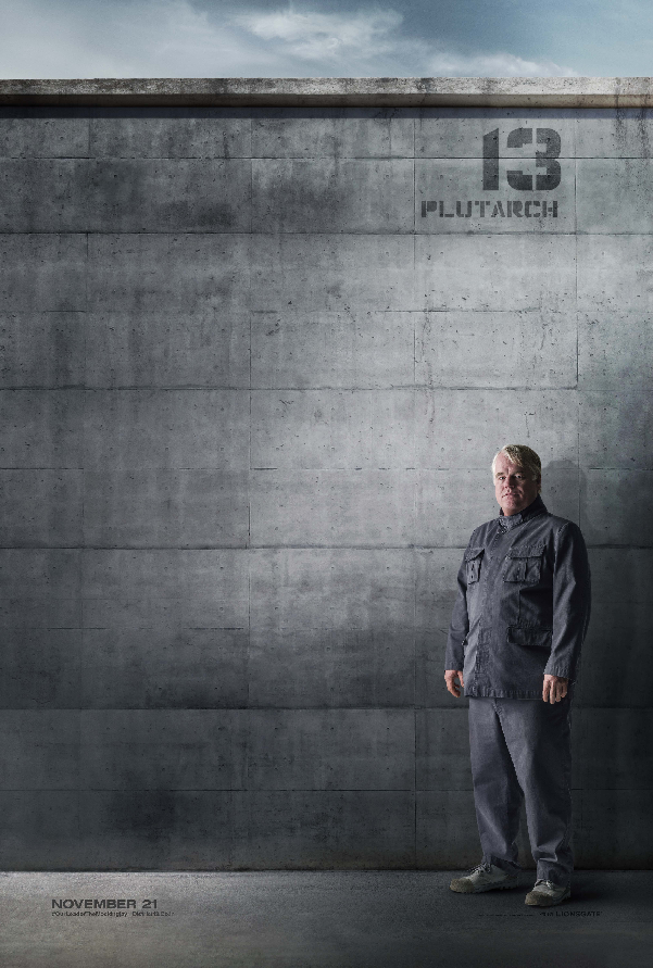 Plutarch District 13 Citizen Poster The Hunger Games: Mockingjay Part 1 District 13 Rebel Posters Revealed