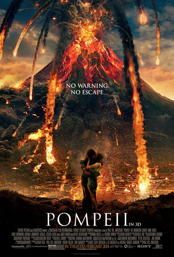 Pompeii Poster Pompeii Movie Review