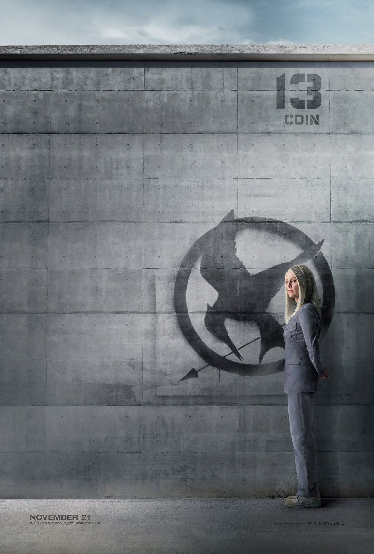 President Coin District 13 Citizen Poster
