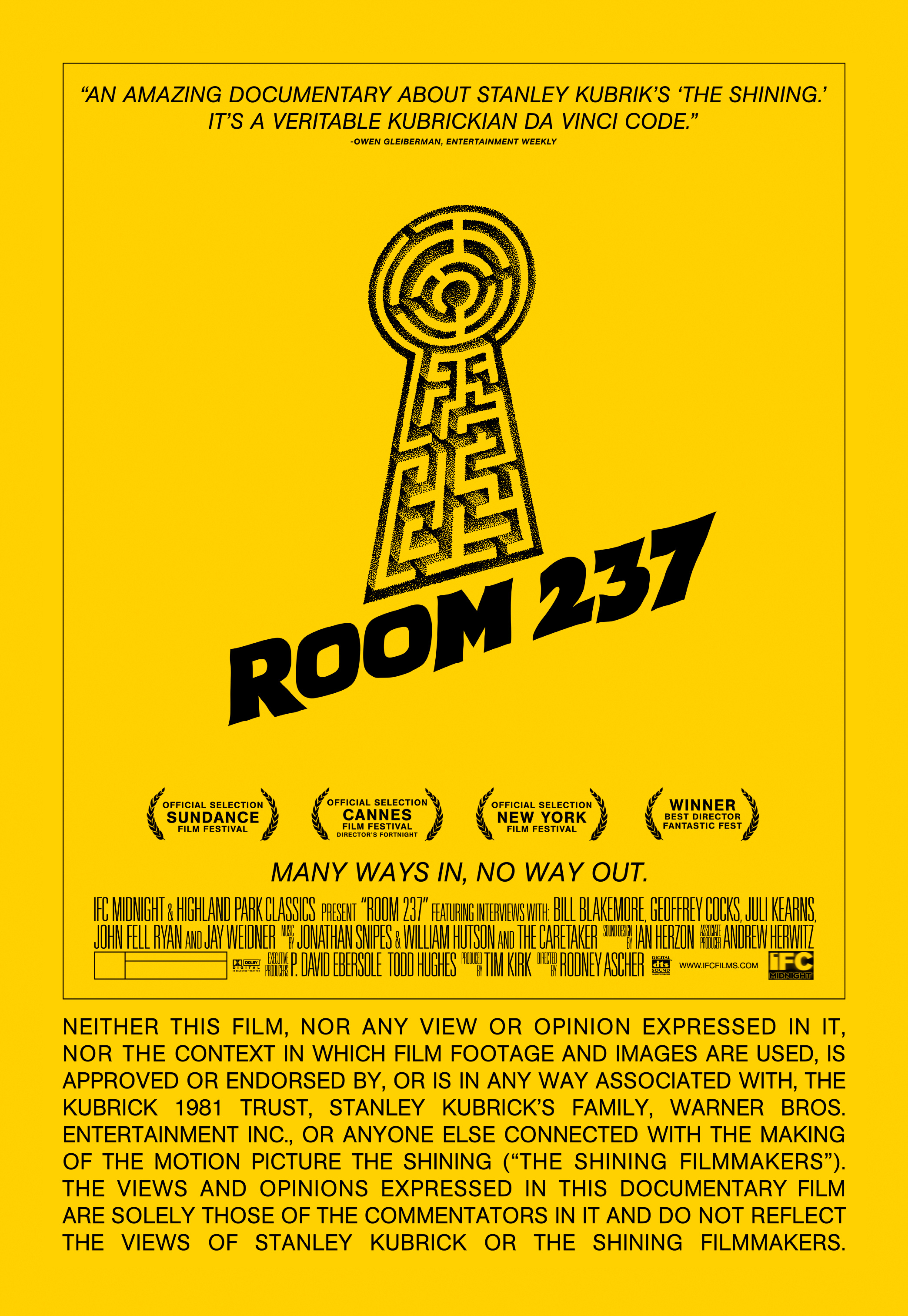 ROOOS 70 BOD final V1 Room 237 Coming To New York March 29