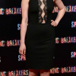 Rachel Korine Stunned in a LOVER Dress at Spring Breakers Premiere 150x150 Keep An Eye Out For Spring Breakers Come Sunday