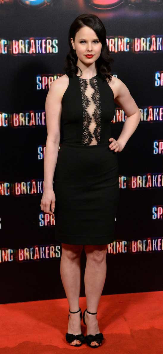 Rachel Korine Stunned in a LOVER Dress at Spring Breakers Premiere Rachel Korine Stunned in a LOVER Dress at Spring Breakers Premiere