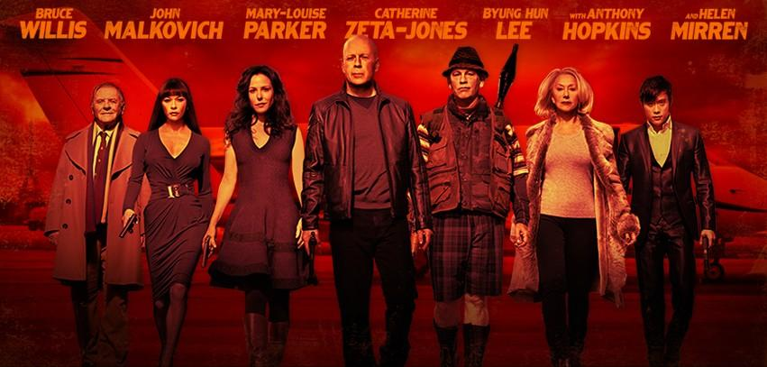Red 2 Character Banner Cool Character Banner for Red 2 Arrives