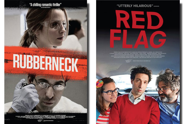 Red Flag and Rubberneck Posters