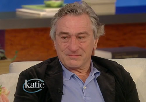 Robert De Niro Becomes Emotional Discussing Silver Linings Playbook with Katie Couric Robert De Niro Becomes Emotional Discussing Silver Linings Playbook with Katie Couric
