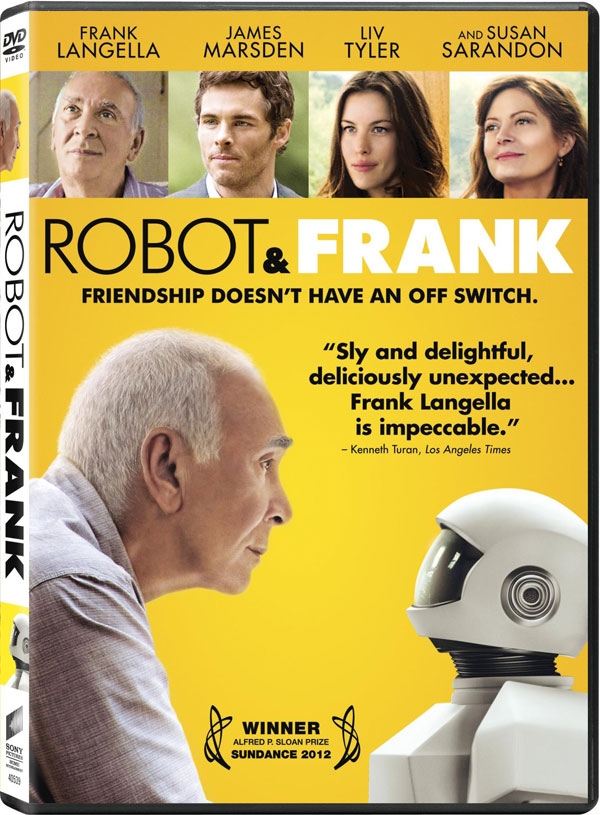 Robot And Frank DVD GIVEAWAY: Robot And Frank On DVD