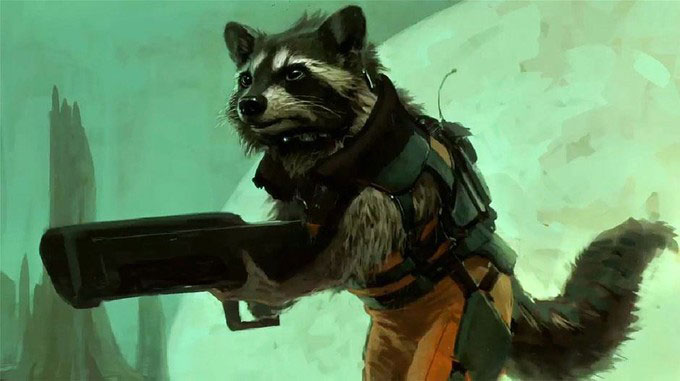 Rocket Raccoon Movie News Cheat Sheet: Batman, Rocket Raccoon And Scarlet Witch Revealed