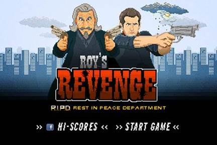 Roys Revenge RIPD Game Catch Criminals in the Afterlife with R.I.P.D. Clips, Photos and Games