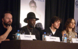 Rupert Wyatt, Michael K. Williams, Mark Wahlberg and Brie Larson The Gambler