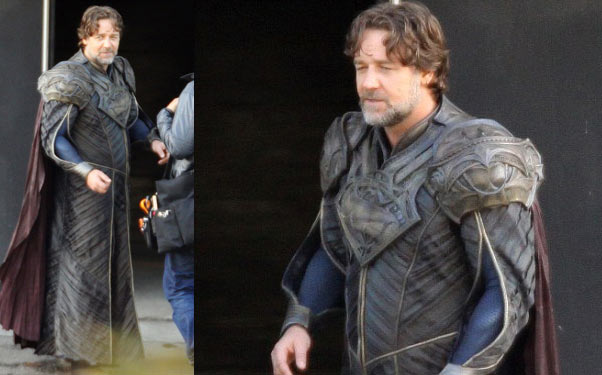 Russell Crowe in Man of Steel Russell Crowe Talks About His Role in Superman: Man of Steel