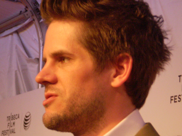 Ryan Piers Willams at Tribeca Film Festival premiere of XY