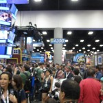 Convention Center Floor at SDCC 2013