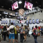 WB Booth at SDCC 2013
