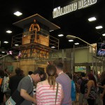 The Walking Dead Booth at SDCC 2013