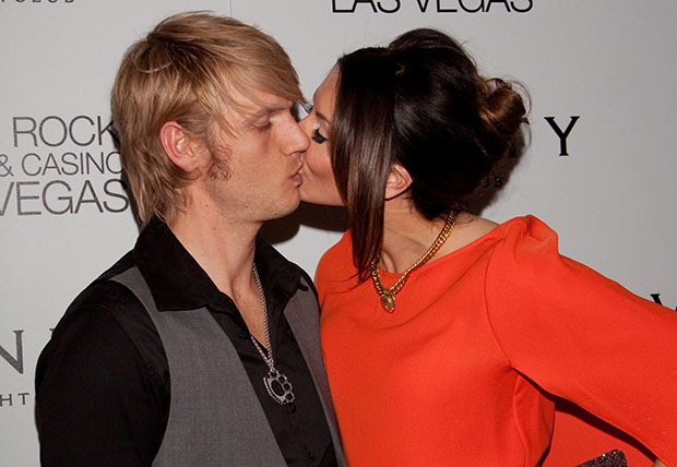 SHJPA 002129 Nick Carter marries Lauren Kitt, but Aaron Carter does not attend the ceremony