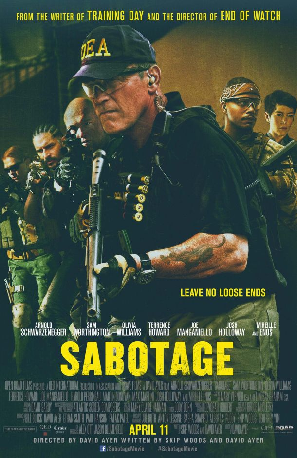 Sabotage the Enemy with Official Movie Poster Sabotage the Enemy with Official Movie Poster