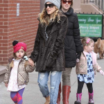 Sarah Jessica Parker Stuns in Sanctuary Jacket in New York City 150x150 Jessica Alba Sports Sanctuary Jeans in Santa Monica