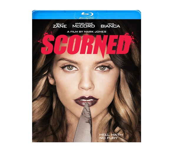 Scorned Blu Ray Artwork Exclusive: Co Writer/Director Mark Jones Talks Scorned, Scary Women
