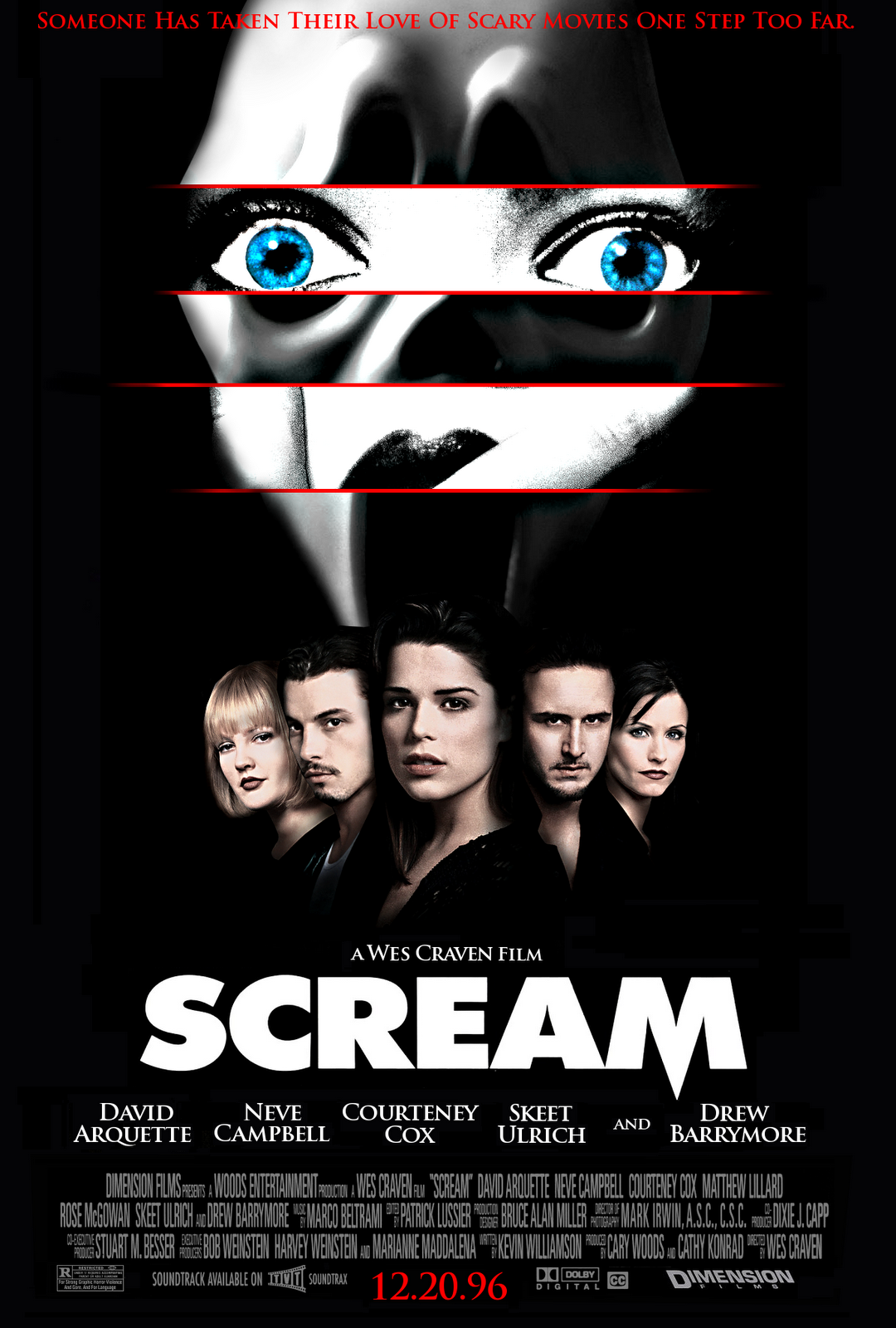 Scream poster 3 Scream Pilot Finds Director, Reveals Cast and Plot