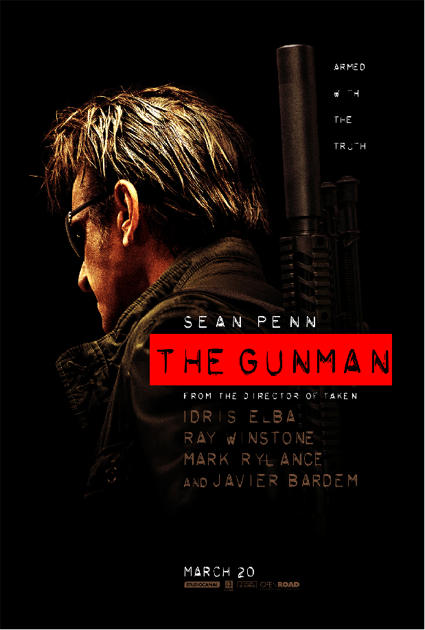 Sean Penn Is Back as The Gunman in Crime Thriller's Official Poster