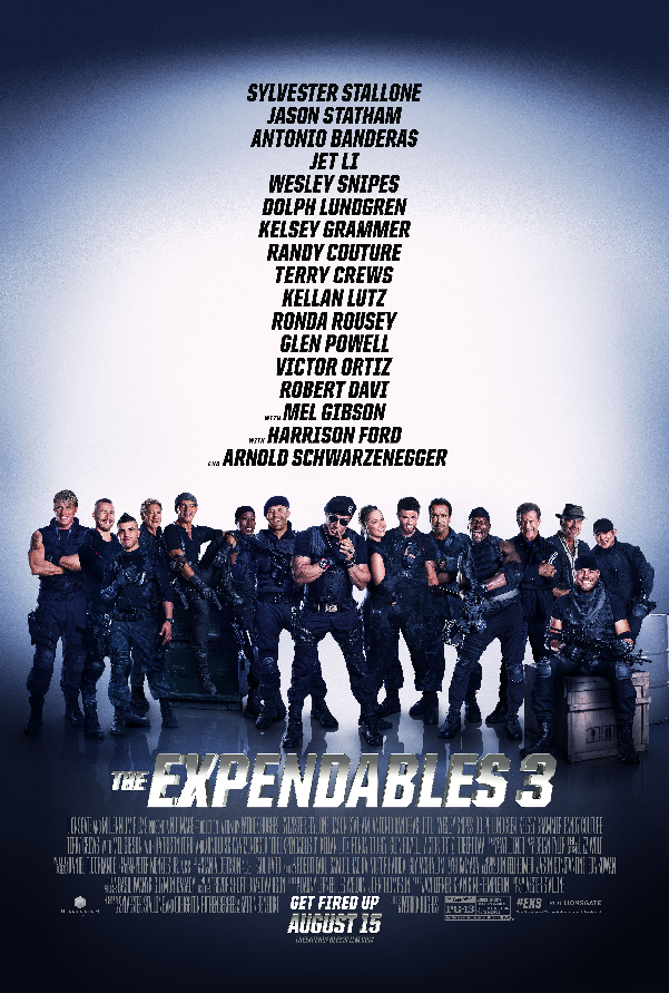See the Action Unfold In New The Expendables 3 Motion Poster