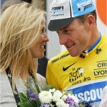 Sheryl Crow with Lance Armstrong when Cyclist Asked Teammate to Cover Up Doping 150x150 Oympic Swimmer Ryan Lochete Says Lance Armstrong Controvery Sad Time in Sports History