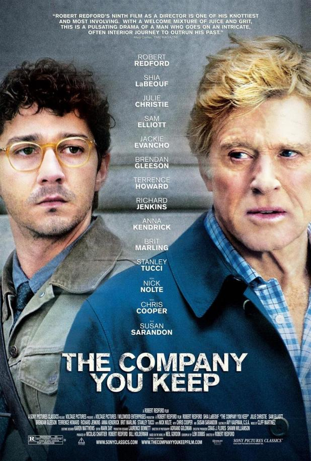 Shia LaBeouf Causes Havoc in The Company You Keep Trailer and Poster1 Shia LaBeouf Causes Havoc in The Company You Keep Trailer and Poster