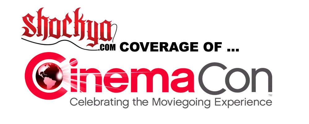 Shockya.com at CinemaCon 2013