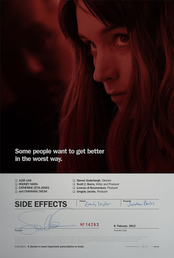Side Effects Poster ShockYa Presents The Movie Night Podcast with Rudie & Perri; Side Effects