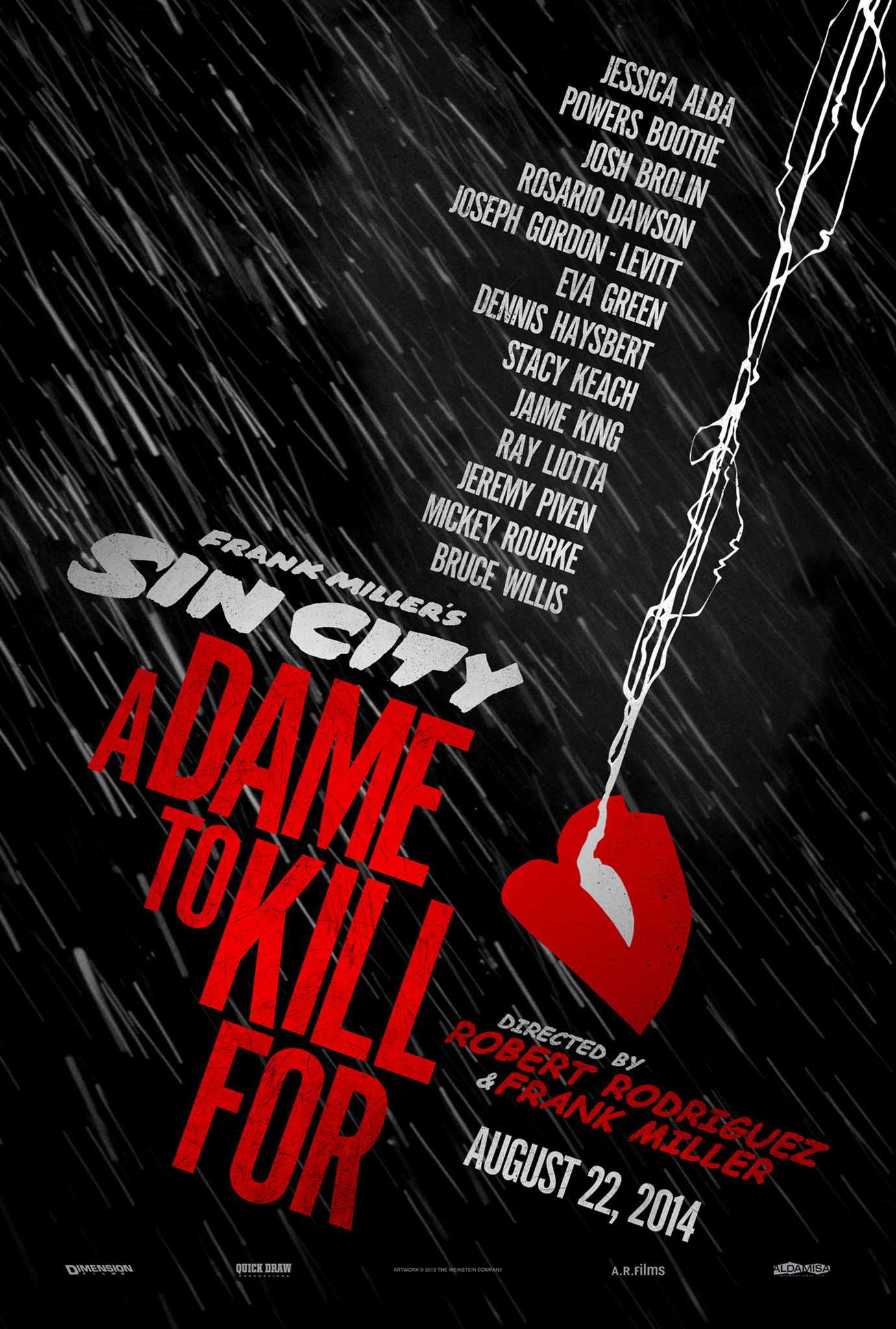 Sin City A Dame to Kill For Shows Its Dirty Dealings In New Trailer Sin City: A Dame to Kill For Shows Its Dirty Dealings In New Trailer