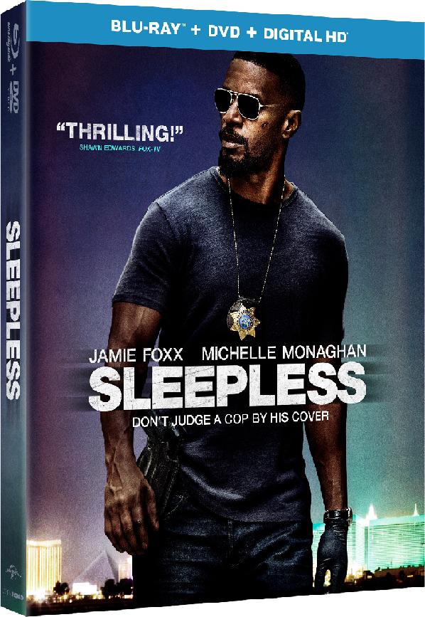 Sleepless Blu-ray Cover Art