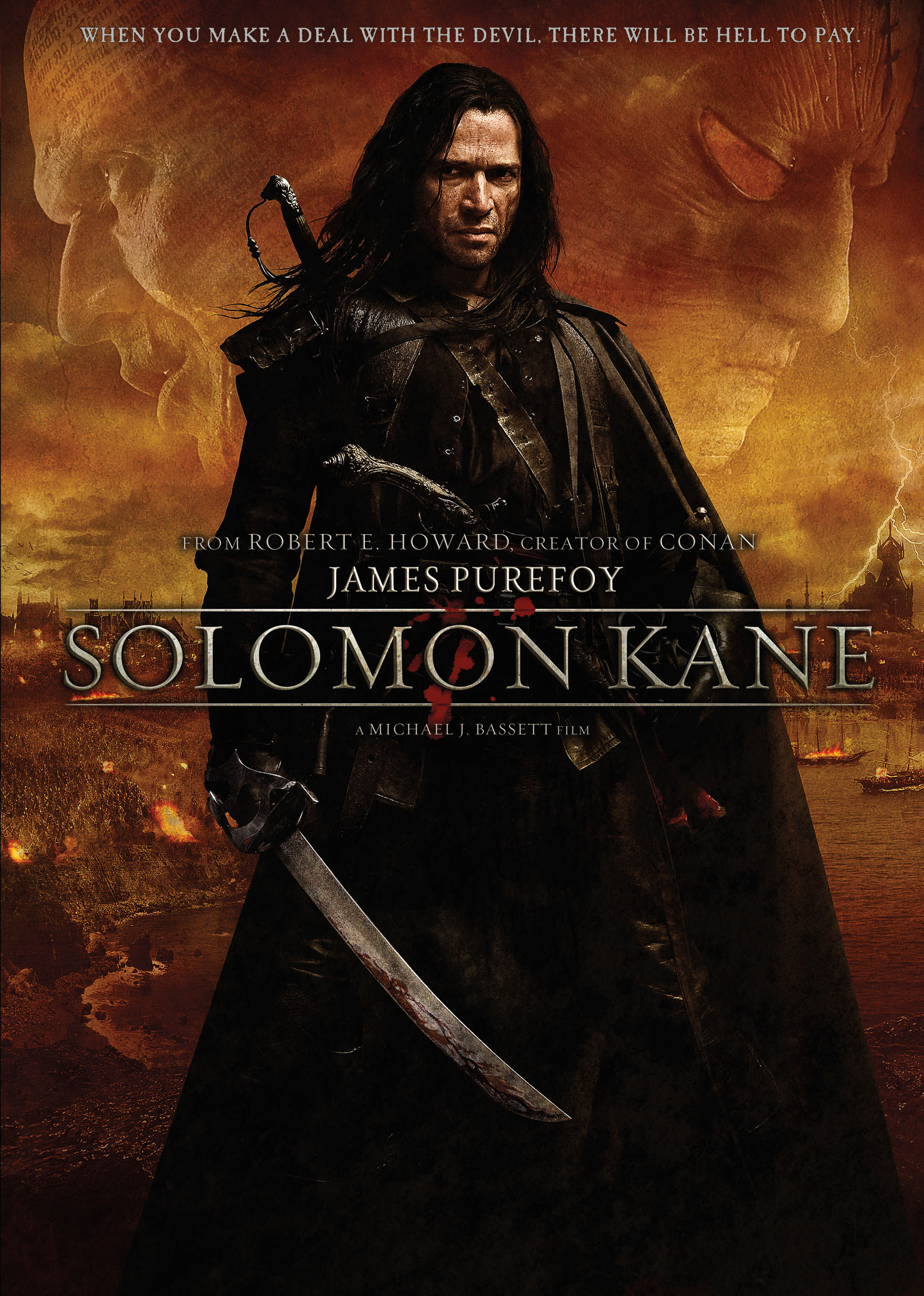 Solomon Kane DVD artwork Create a Poster, Win a Solomon Kane Prize Pack!