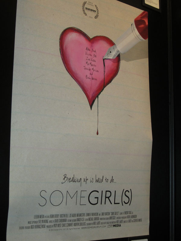 Some Girls SXSW Poster SXSW 2013: Posters For Some Girl(s), Cheap Thrills, Gus And More!
