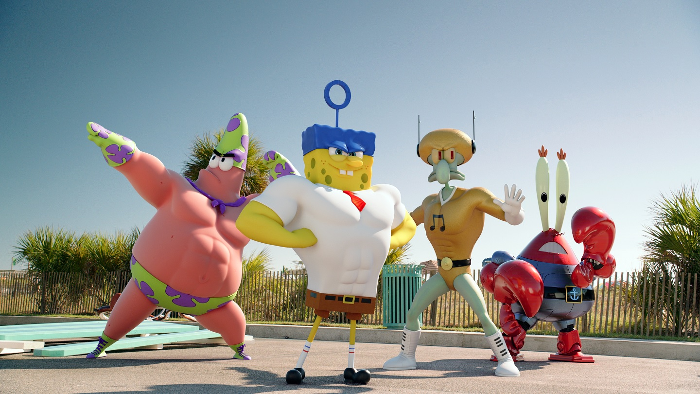 SpongeBob SquarePants Comic Con First Trailer for SpongeBob SquarePants: Sponge Out of Water Released