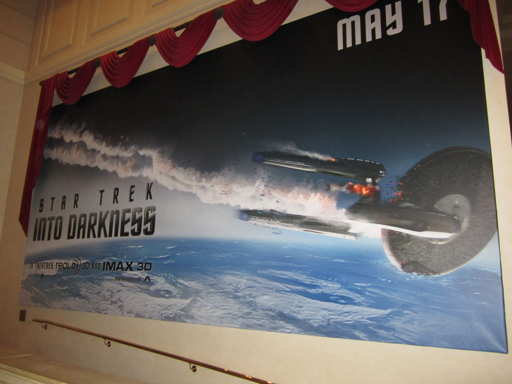 Star Trek Into Darkness Banner CinemaCon Shockya CinemaCon 2013: Chris Pine Star Trek Into Darkness Character Poster