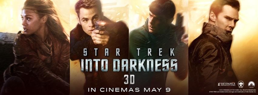 Star Trek Into Darkness UK Banner